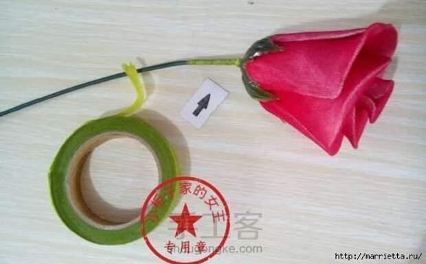 Розы из капрона. Красивые идеи и мастер-класс (83) (589x366, 84Kb)