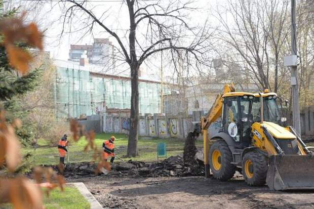 В Самаре начались работы по благоустройству территории возле Фабрики-кухни