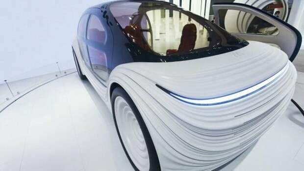 Дизайн автомобиля словно пульсирует, чтобы отразить поток воздуха над ним авторские права на изображение GETTY IMAGES