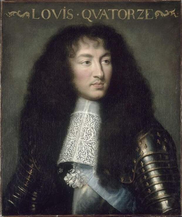 Людовик XIV, портрет, возможно, кисти  Шарля Лебрена