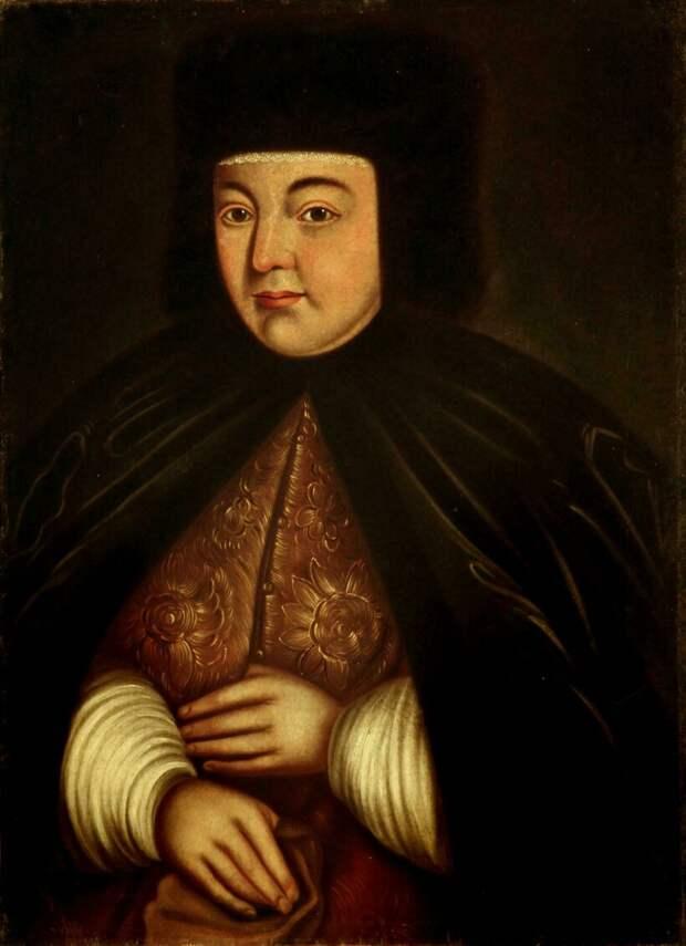 Портрет царицы Натальи Кирилловны Нарышкиной, XVIII век . Автор неизвестен