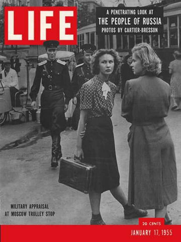 Cartier Bresson01 25 кадров Анри Картье Брессона о советской жизни в 1954 году