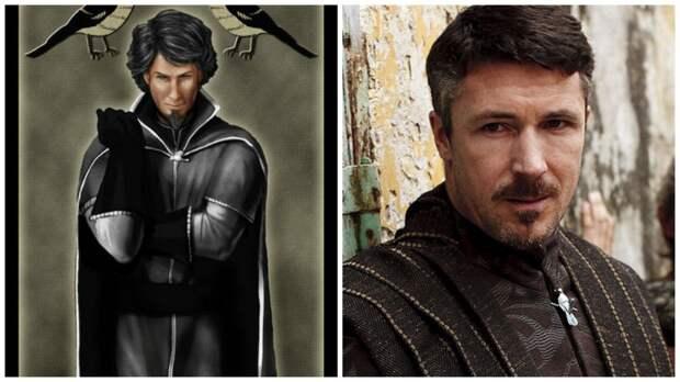 """От Джона Сноу до Тириона Ланнистера: как персонажи """"Игры престолов"""" выглядят в книгах и на экране"""