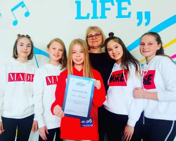 Ксения Пономаренко из Ижевска выступила в полуфинале национального отбора на «Детское Евровидение»