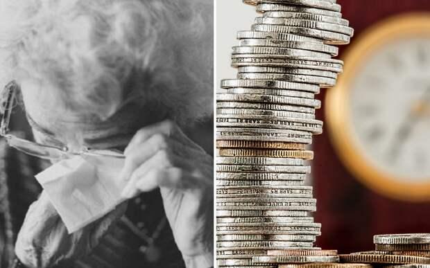 Девушка подарила 2,5 миллиона старушке, у которой отняли все сбережения