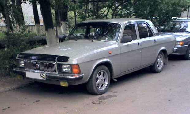 ГАЗ-3102 автомобили, газ, фоторепортаж