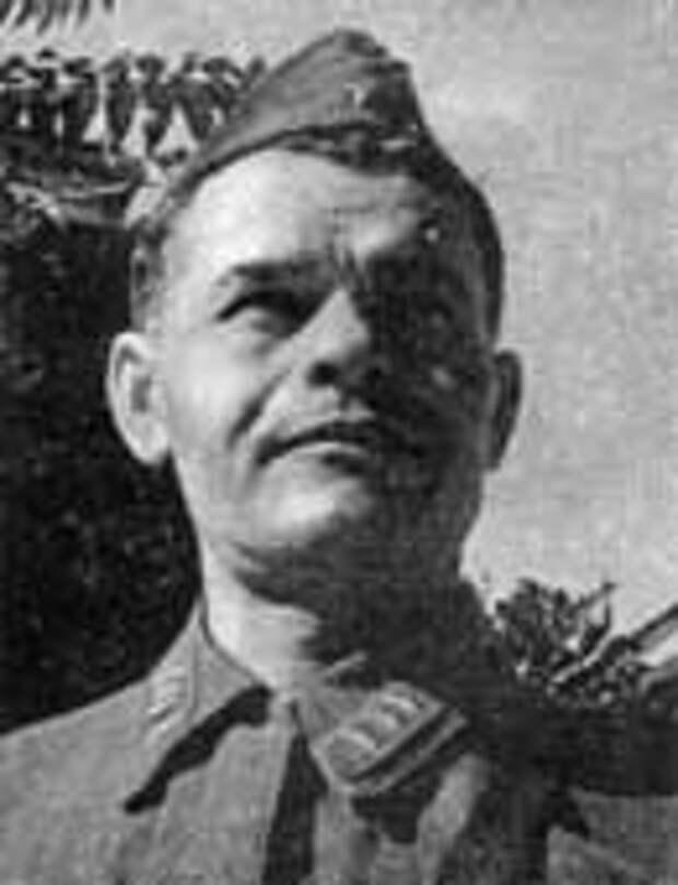 Командир 1-го полка морской пехоты Осипов Я.И.