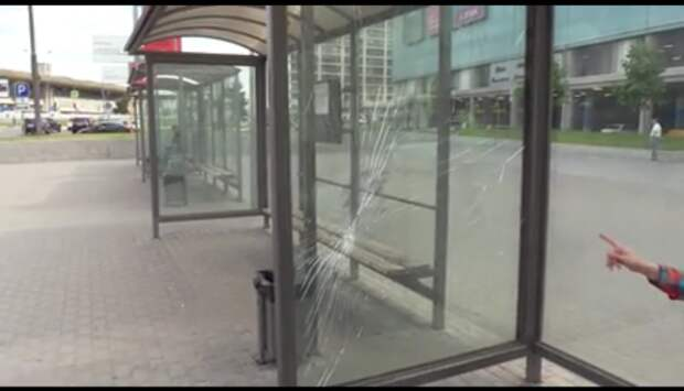На севере Москвы сотрудники полиции задержали подозреваемого в вандализме