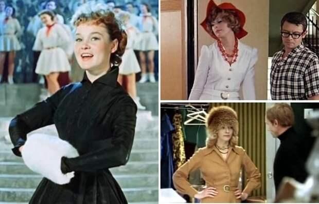 Эти наряды стали культовыми благодаря знаменитым советским фильмам | Фото: ingood.ru и april-knows.ru