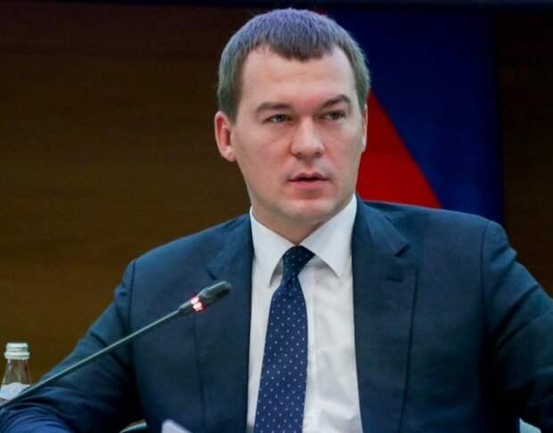 Дегтярев ответил на зов митингующих выйти к народу призывом блюсти социальную дистанцию