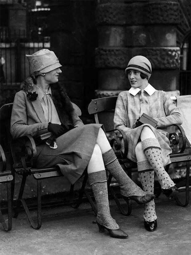 Шотландия, 1926 год Стиль, винтаж, двадцатые, женщина, мода, прошлое, улица, фотография