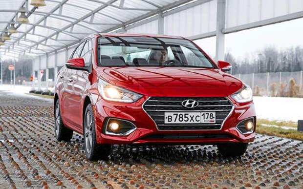 Новый Hyundai Solaris — отец Креты