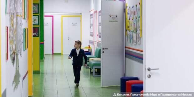 Собянин: В Москве за три года будет построено около сотни школ и детсадов. Фото: Д. Гришкин mos.ru
