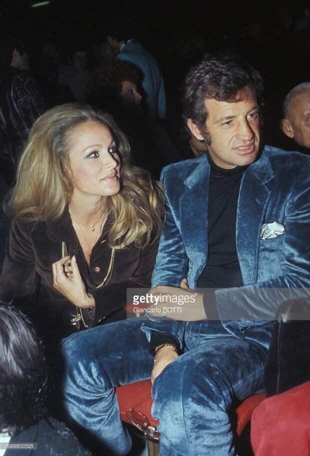 Урсула Андресс и Жан-Поль Бельмондо 1960-70 годы.