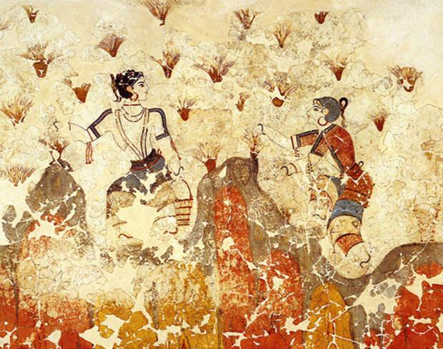 Свободные и независимые критские женщины.