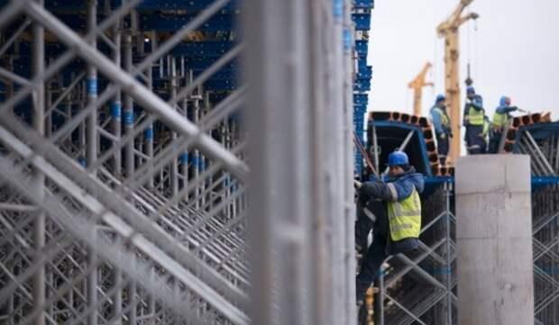 Завершен монтаж металлоконструкций двух левоповоротных эстакад через Волгоградский проспект