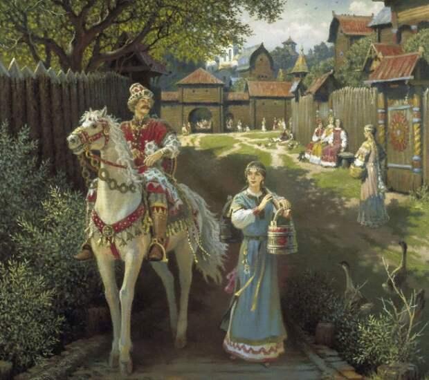 Заветные обряды Славянского царства