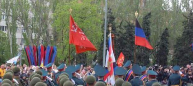 Парад Победы и Бессмертный полк в столице ДНР. Фоторепортаж