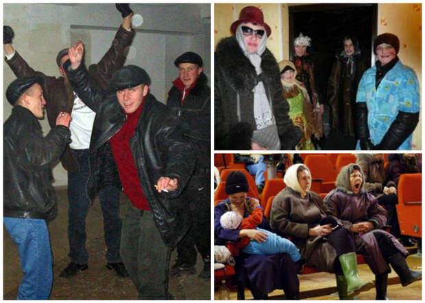 Корпоративы, корпоративы. Сельский Новый год – вот где сила народная! весело, деревня, интересно, новый год, село, юмор