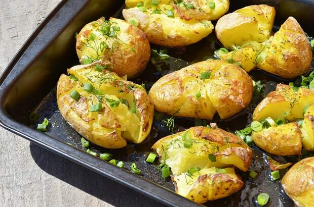 мятая картошка