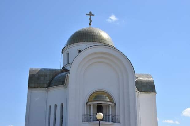 На территории храма Георгия Победоносца в Воткинске начали возводить колокольню