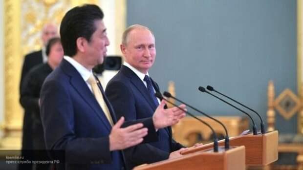 Абэ пожалел, что не успел подписать мирный договор с РФ до своей отставки