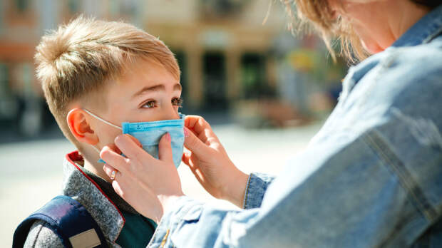 В России выросла заболеваемость COVID-19 среди детей
