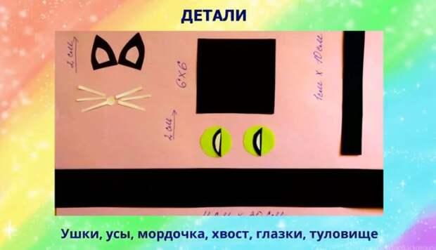 Юные жители Северного смастерят на онлайн-уроке чёрного кота Ваську