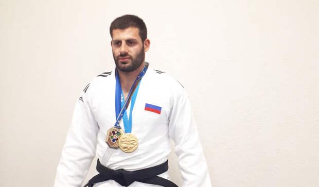 Волгоградские дзюдоисты завоевали серебряные медали «Большого шлема» вКазани