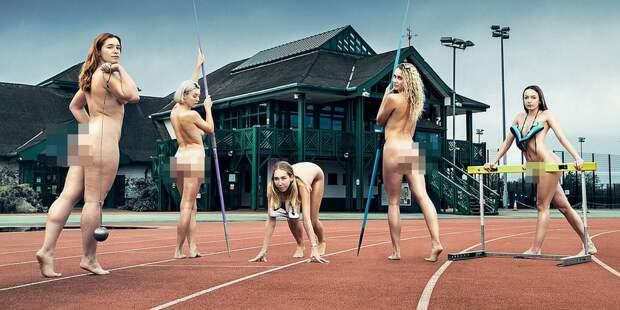 Спортивные девушки ипарни изКембриджского университета разделись для благотворительности