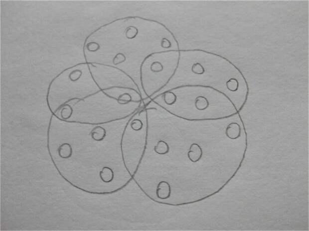 Схема подвязывания куста. Фото автора