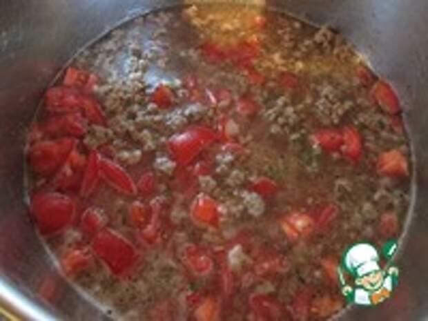 """Суп """"Лазанья"""" ингредиенты"""