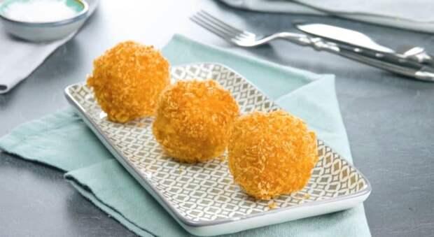 Жареные кубики из яйца. Яйцо в хрустящей панировке удивит вас своим вкусом 2