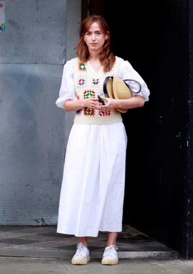 101 звездный образ уличного стиля на Лондонской неделе моды (весна 2022 года)