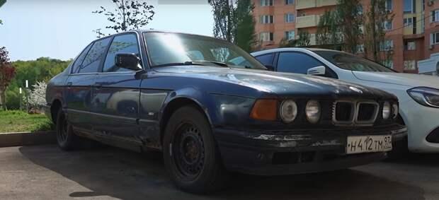 Бэха за 30-ку: пытаемся воскресить убитую «семерку» BMW