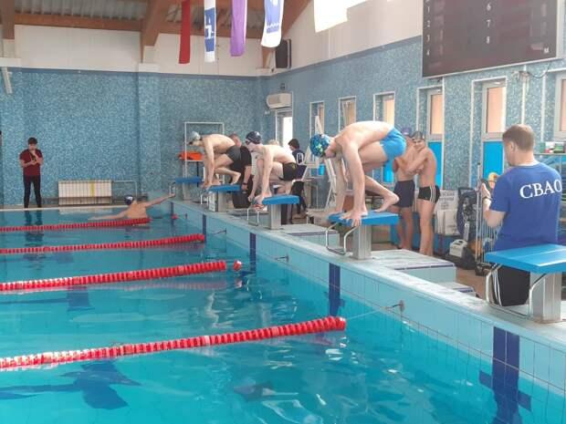 Пловцы из Марфина заняли первое место на окружной спартакиаде