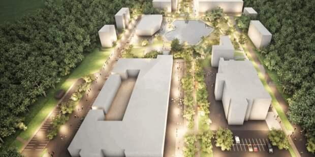 В новом сквере у Амбулаторного пруда появятся световые фонтаны