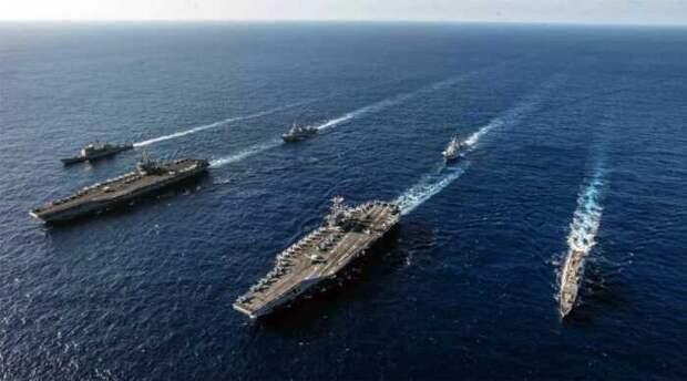 Российские боевые корабли в Средиземноморье расшатали американский флот