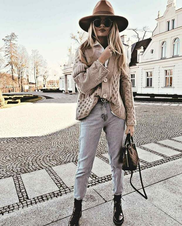 Как стильно носить вязанные изделия этой зимой