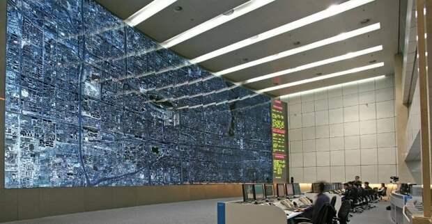 Центр управления транспортом в Пекине. жизнь, интересные, фото