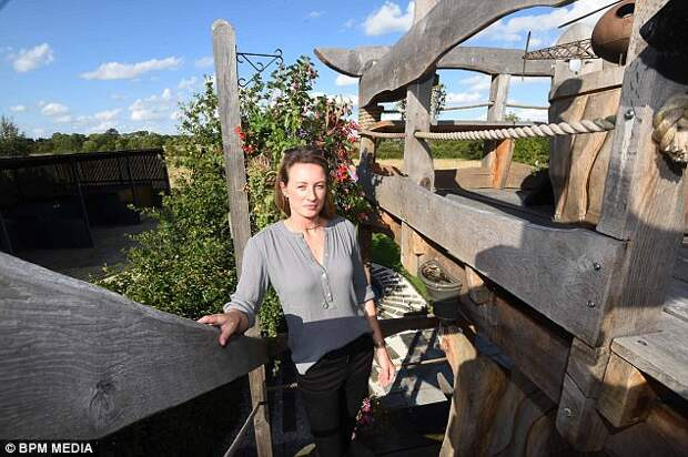 Martine said she had support from neighbours, apart from one who made a complaint. She has until the end of August to tear it down, or she could face an unlimited fine