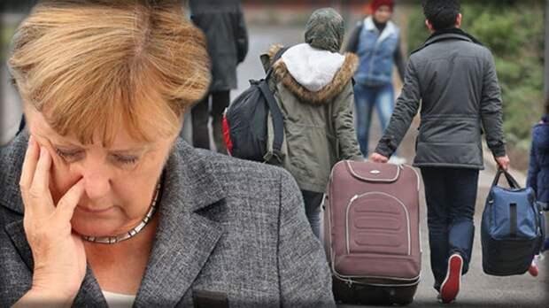 Меркель собирай чемоданы. Это видео собрало за неделю 1,5 млн просмотров в немецком фейсбуке