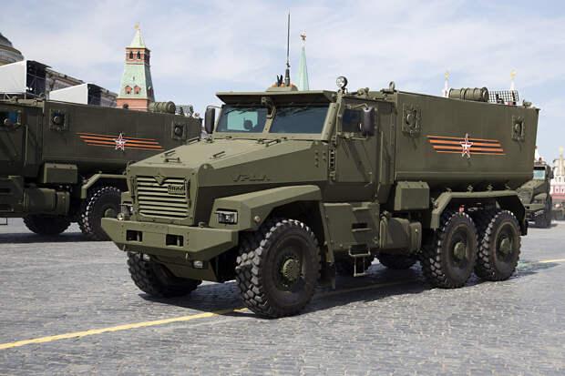 В России запатентовали компактный бронированный автомобиль «Урал»