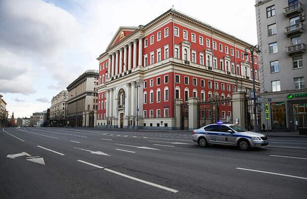 Какие улицы будут перекрыты в Москве 9 мая?