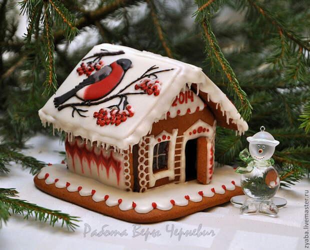 Нет слов, какие прекрасные новогодние пряничные композиции! Браво автору  создателю Ольге Надышневой.