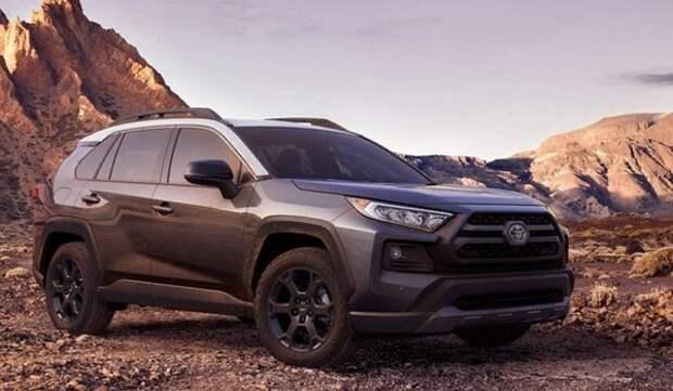 Toyota сделала из RAV4 полноценный внедорожник