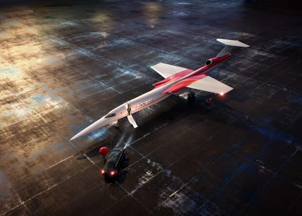 Boeing поможет стартапу Aerion создать сверхзвуковой пассажирский самолет