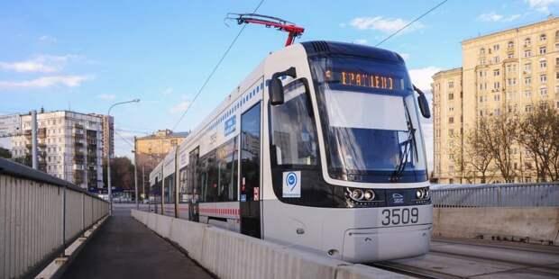 Трамваи №6 в Северном Тушине ввели в график