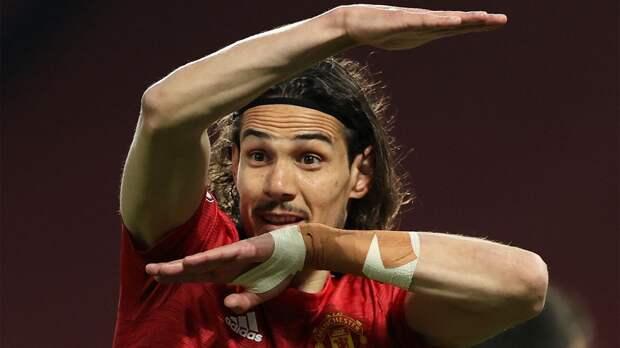 Кавани признан лучшим игроком недели в Лиге Европы