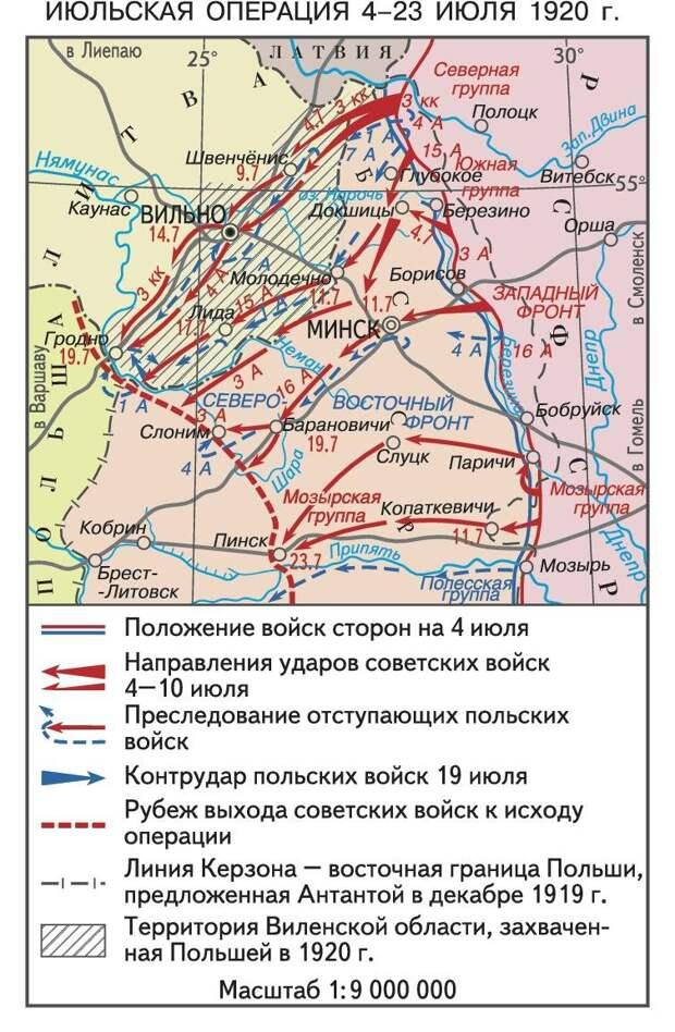 Минск наш! Разгром польской армии в Белоруссии